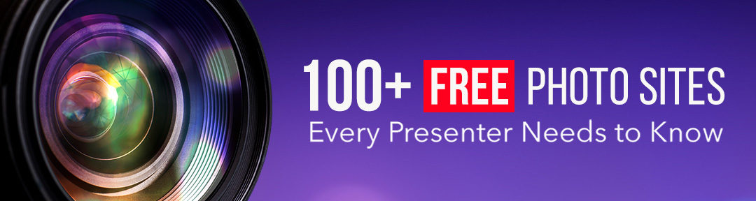 100+ FREE Stock Photos Sites Every Presenter Needs to Know