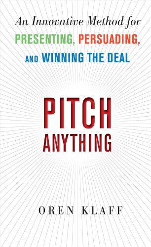 Presentation Books - Pitch Anything