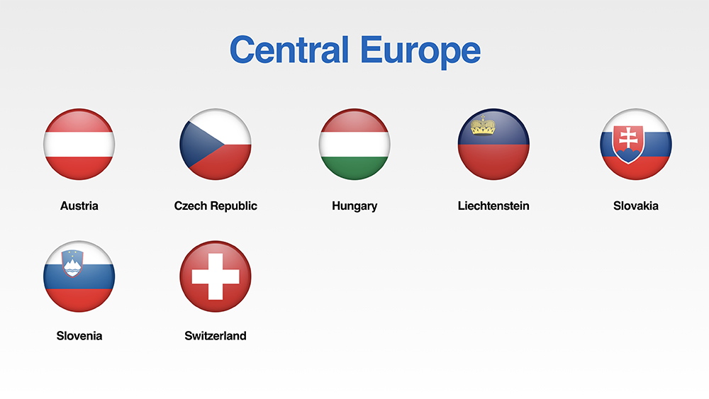 Free Set Of Europe Flags Icons For Your Presentations Presomakeover