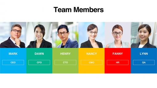 Team Member Templates