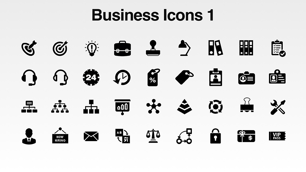 download 600 free vector icon pack for presentations